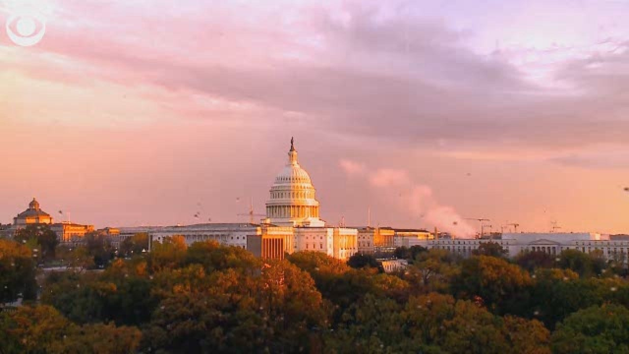 TIMELAPSE: Watch This Beautiful Sunset At The U.S. Capitol