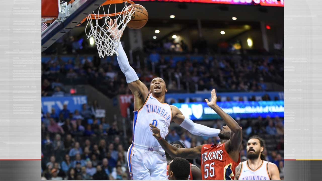 Thunder Win Fifth Straight, Lose Westbrook To Sprained Ankle