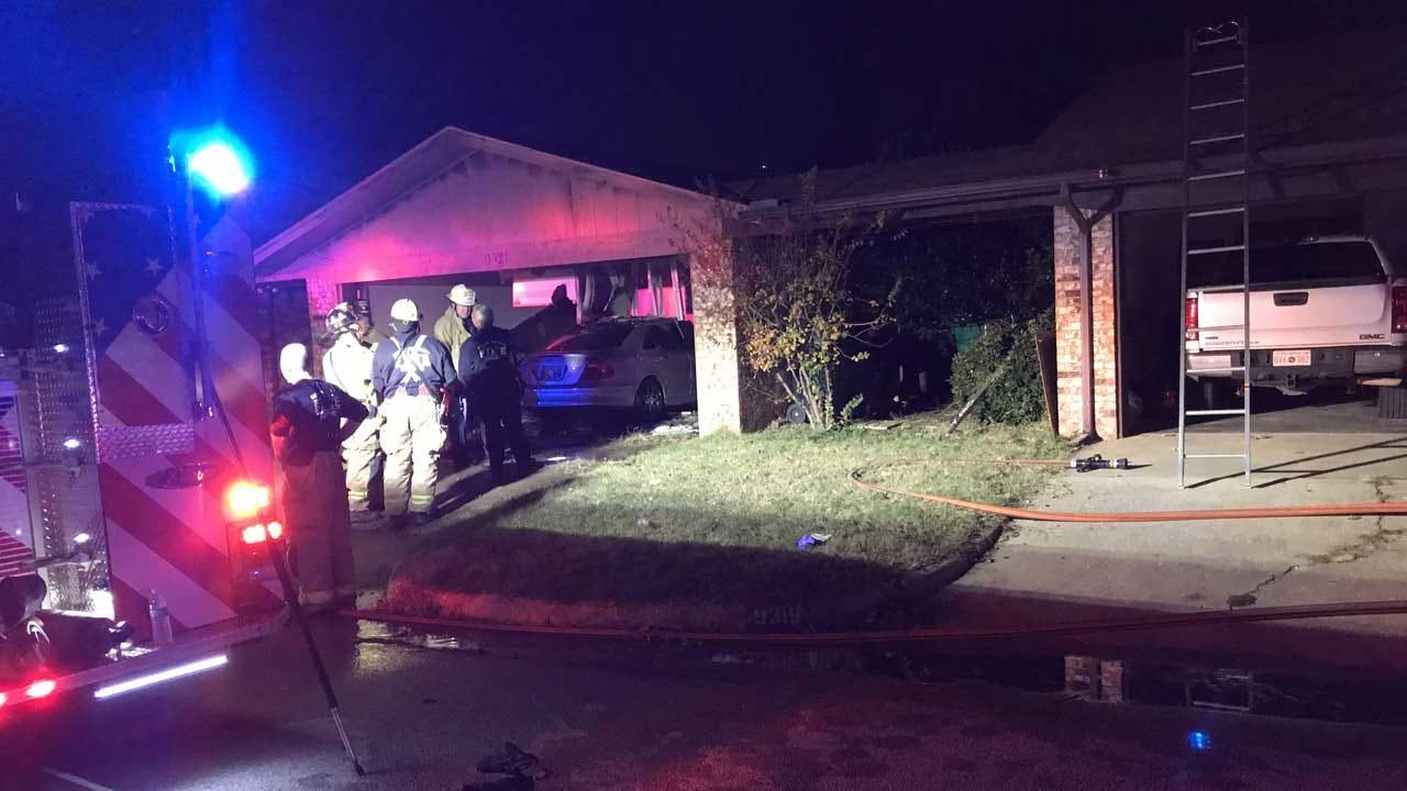 OKCFD: Victim Located In House Fire In SW OKC