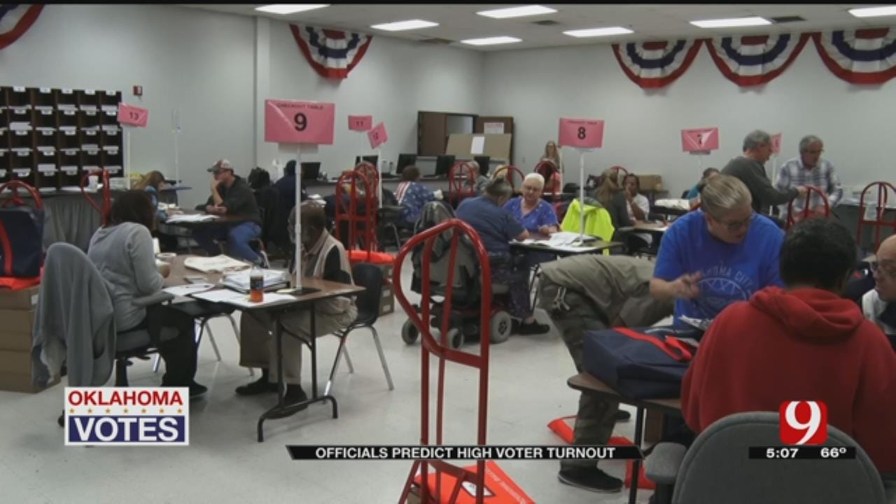 Oklahoma Officials Brace For Busy Election Day