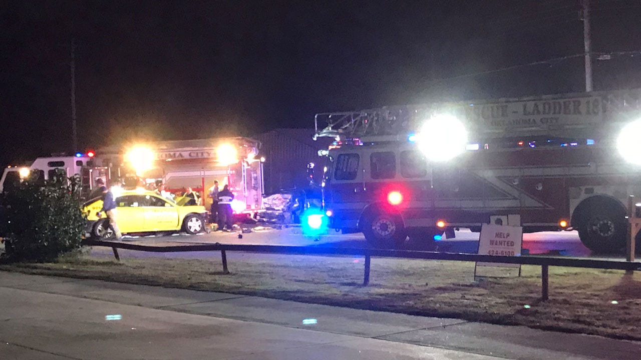 Crews Respond To Head-On Collision In NE OKC