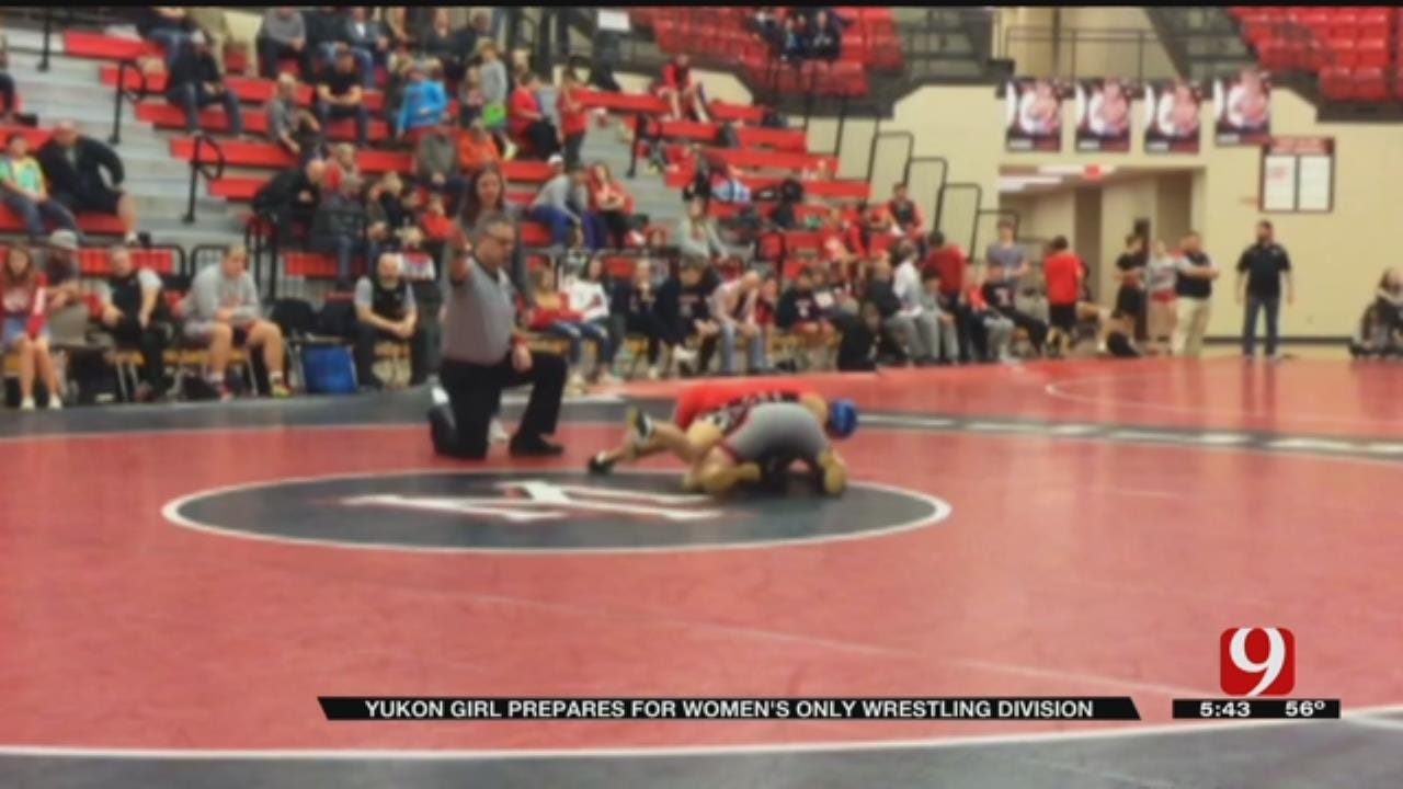 Yukon To Hold Women's Division For junior, High School Wrestlers