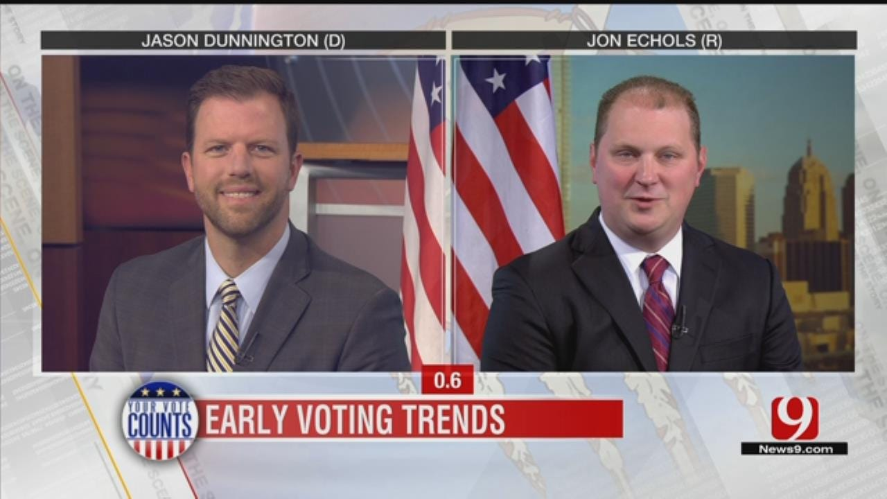 Your Vote Counts: Early Voters Turn Out In Record Numbers