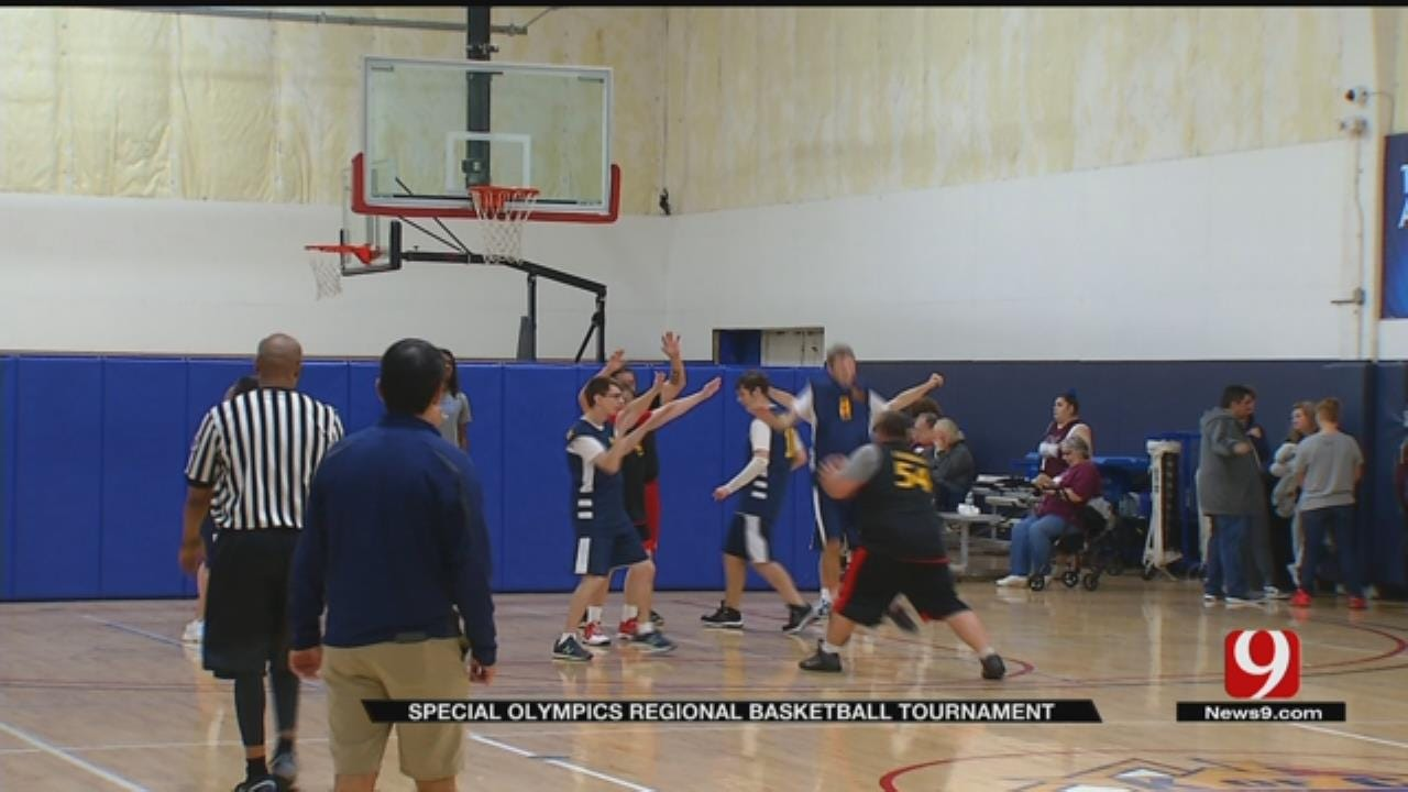 Oklahoma Special Olympics Kicks Off With Basketball Tournament