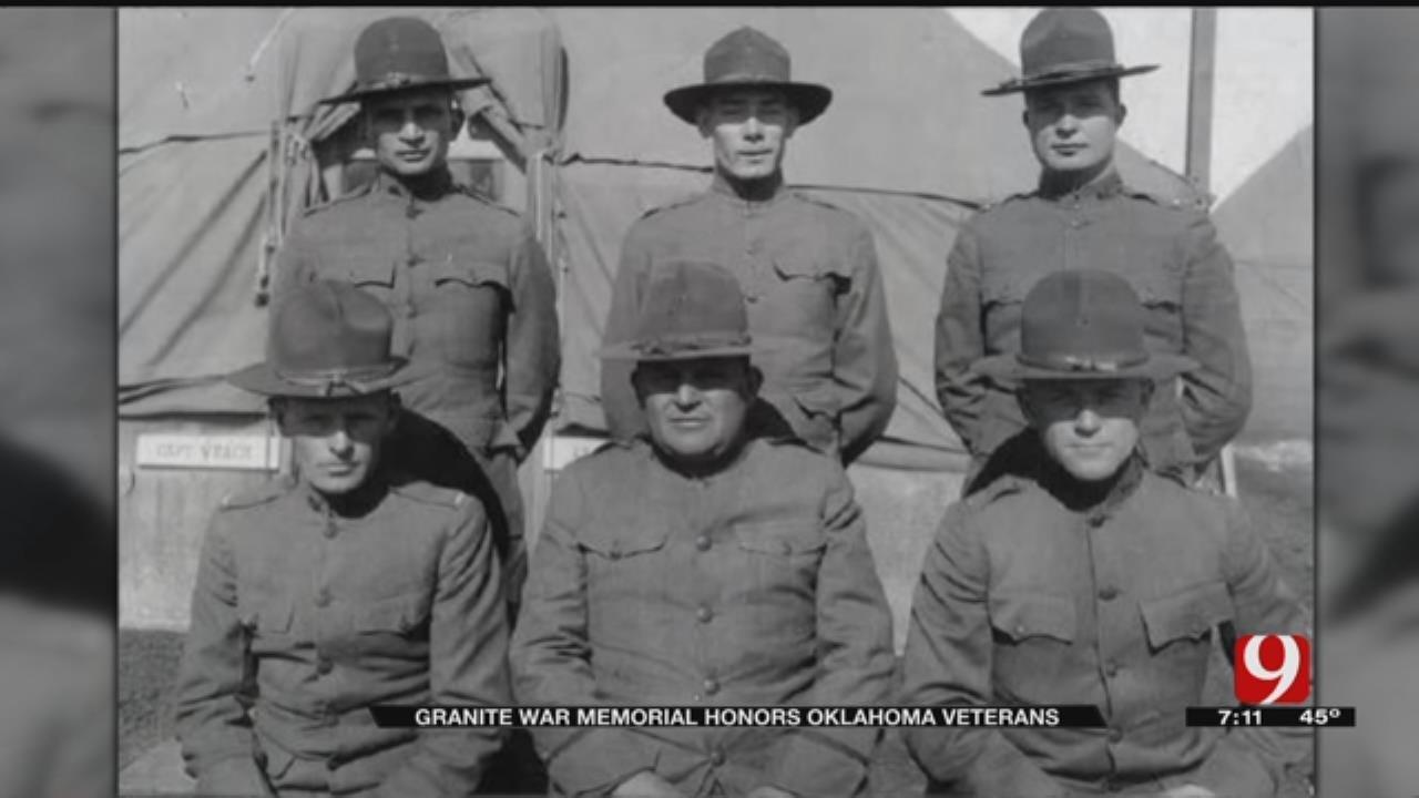 Granite War Memorial Honors Oklahoma Veterans