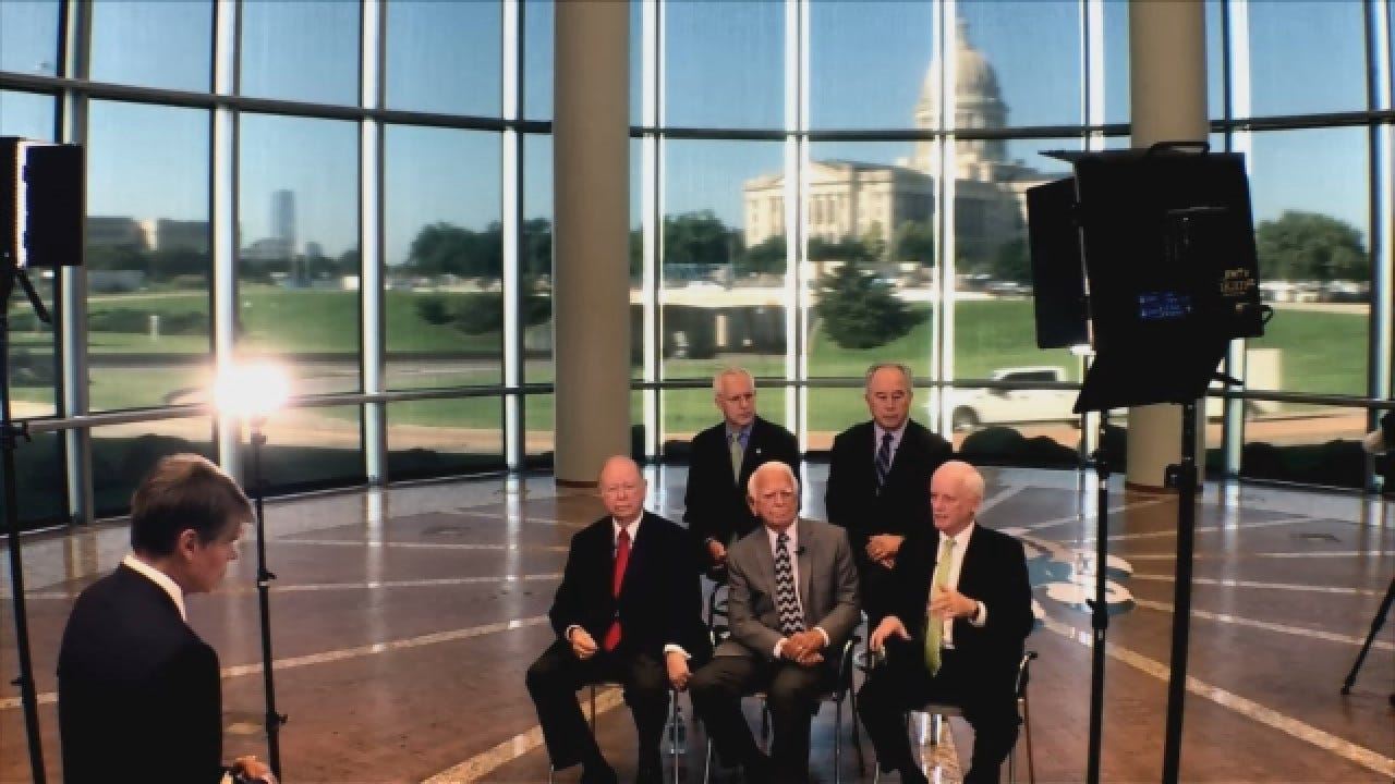 Former Gov. Frank Keating Says Next Governor Needs To Fearless In Implementing Reforms
