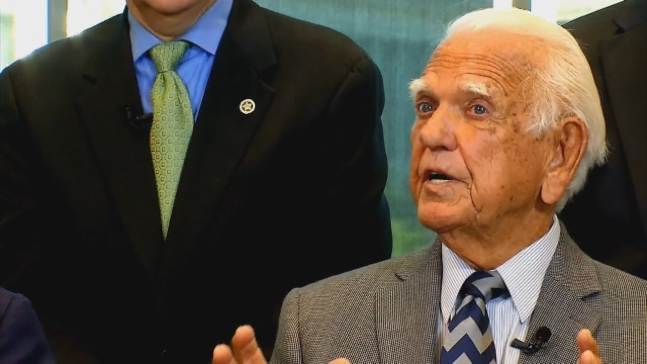 Former Gov. George Nigh Hopes Everyone Would Sit Down, Work Together