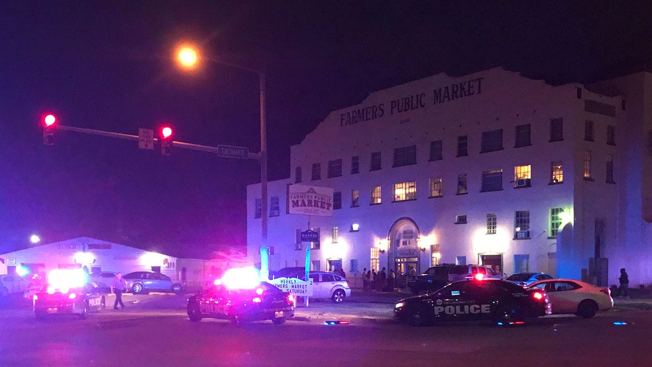 Police Investigate Shooting At Farmer's Market