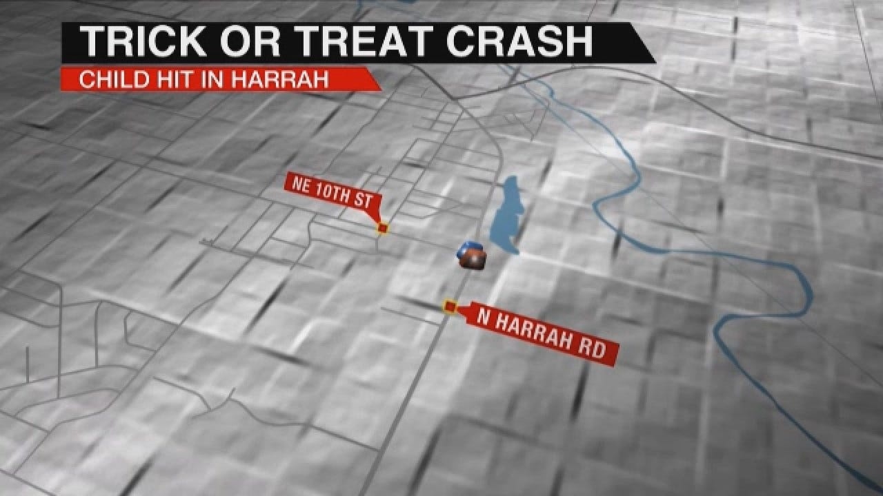 Vehicle Hits Child Trick Or Treating In Harrah