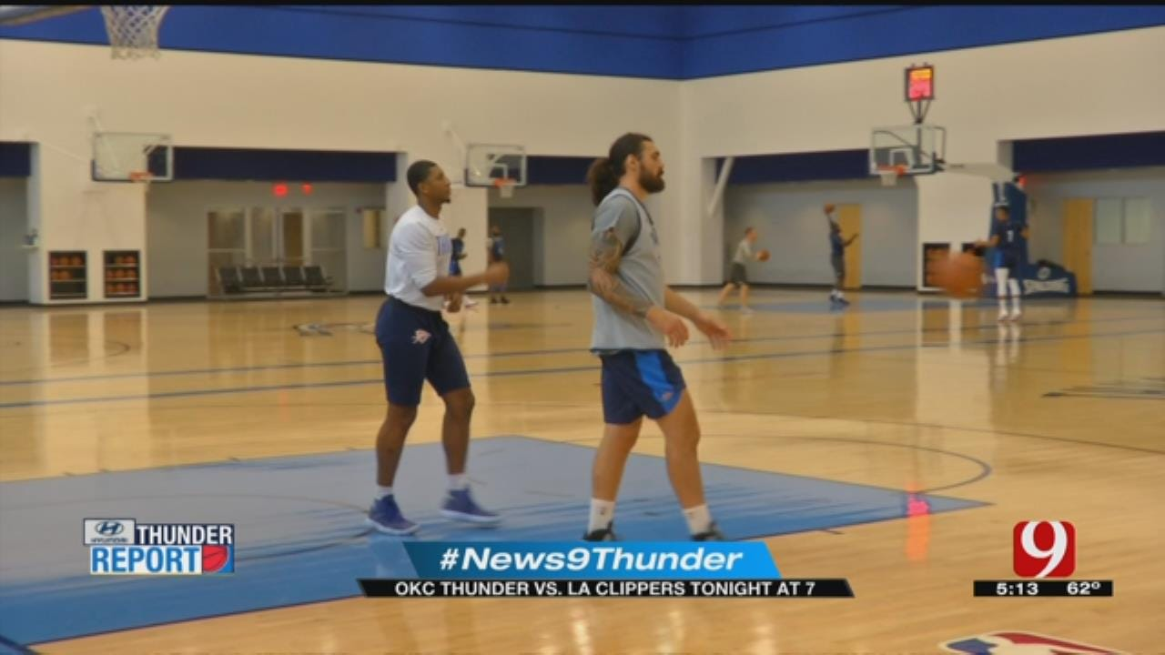 Thunder Hopes To Improve Season With Win Against Clippers