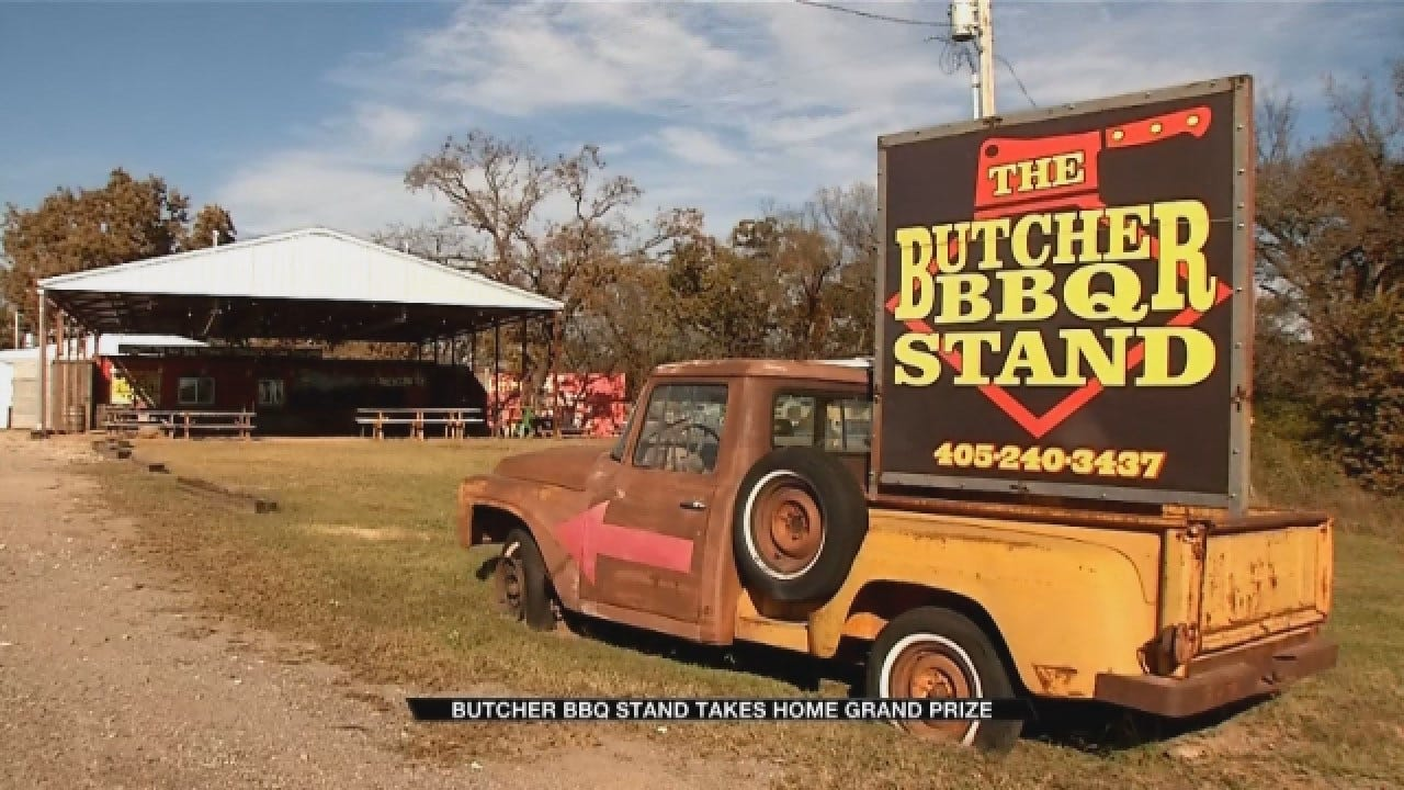 Oklahoma BBQ Stand Recognized As World Champion Barbecue Team