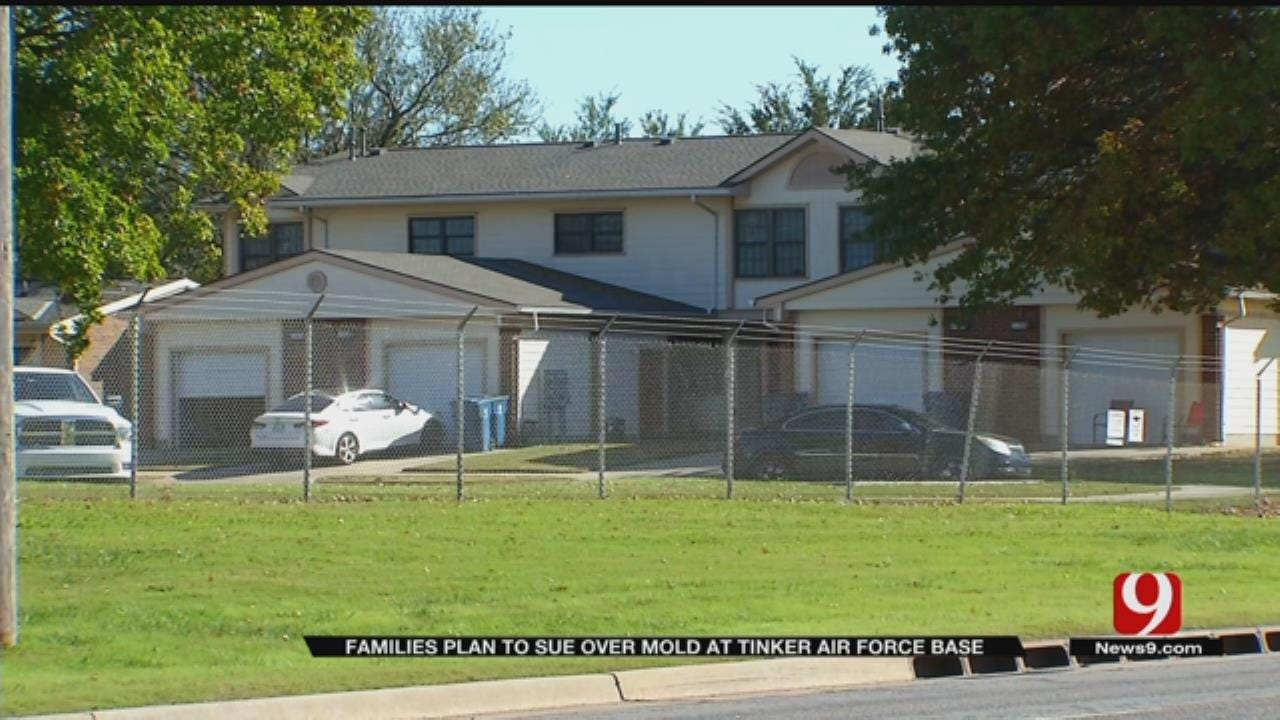 Families Plan To Sue After Finding Mold In Homes At Tinker AFB