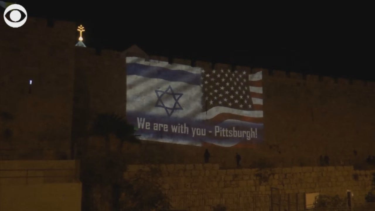 Video: 'We Are With You, Pittsburgh'