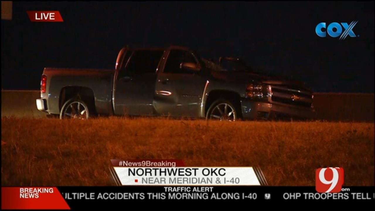 Crews Respond To Fatality Along I-40 And Meridian