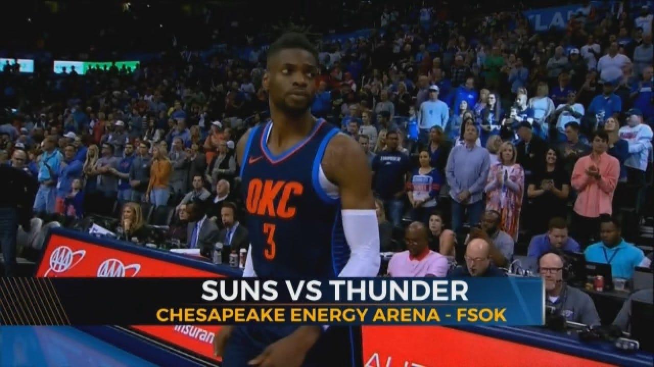 Thunder First Season Win Against The Suns
