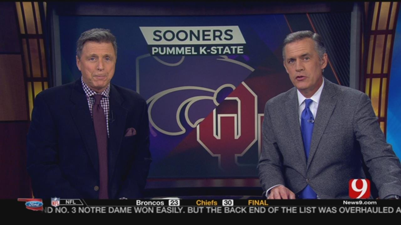 OU Breakdown: Sooners Pummel The Wildcats