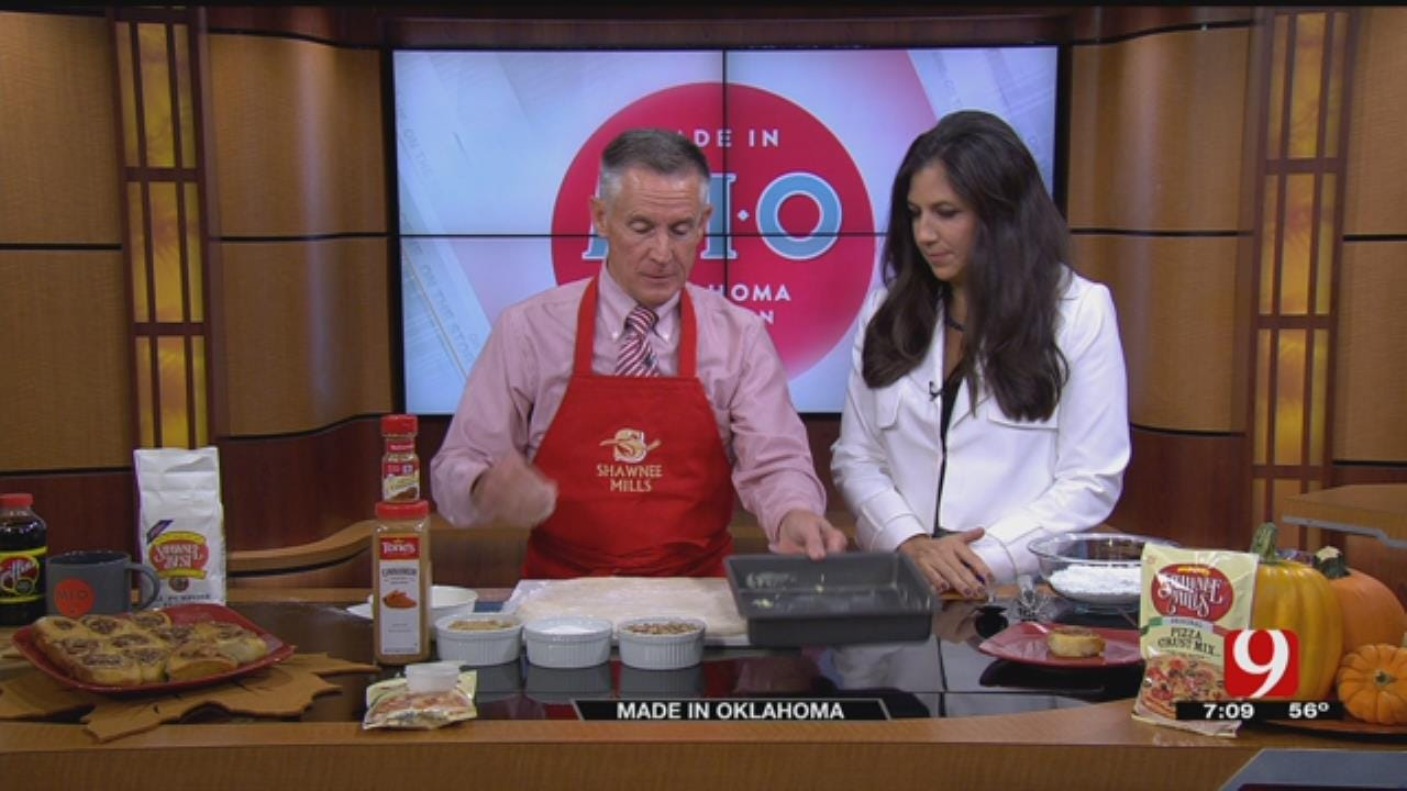Made In Oklahoma: Pizza Crust Cinnamon Rolls