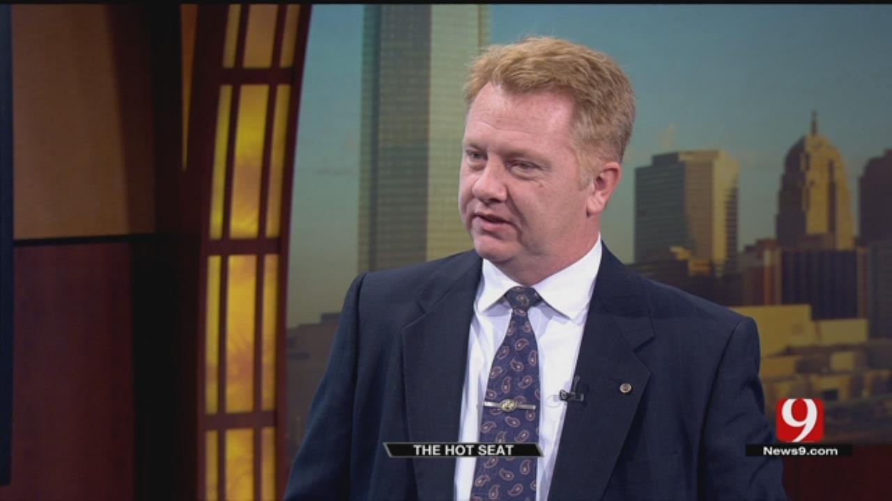 Hot Seat: Gubernatorial Nominee Libertarian Nominee Chris Powell