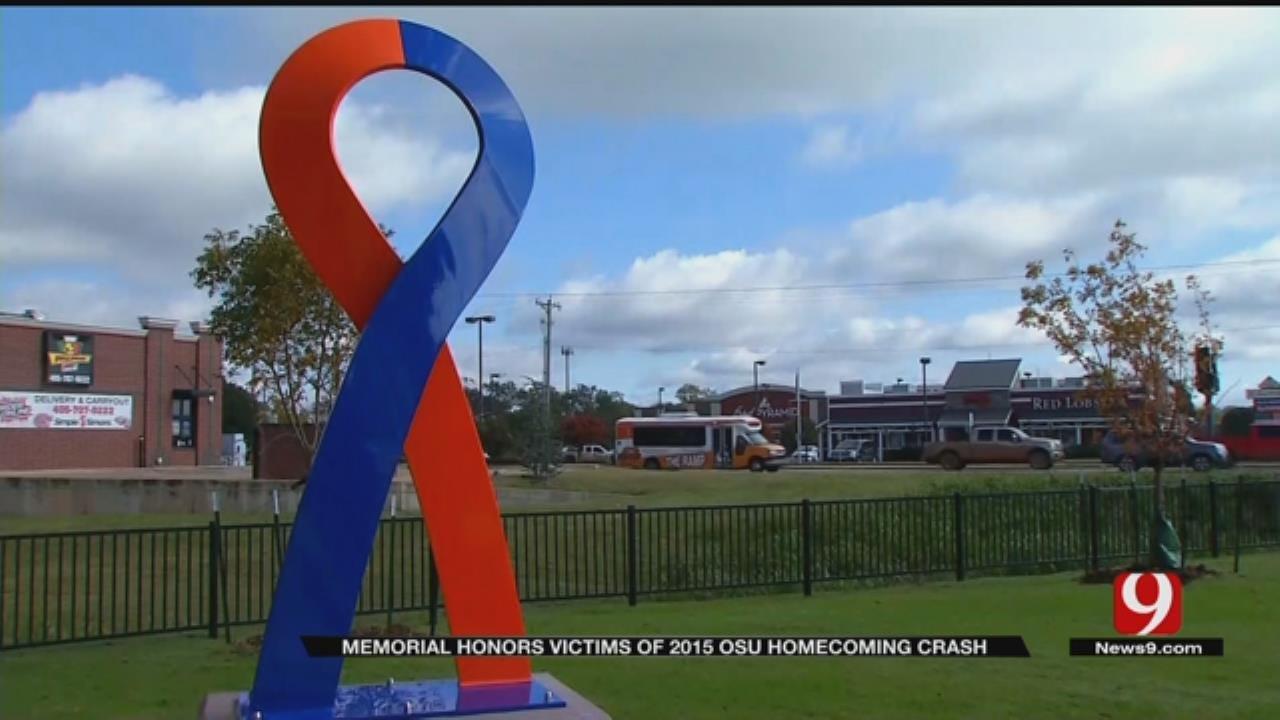 Memorial Honors Victims Of 2015 OSU Homecoming Crash