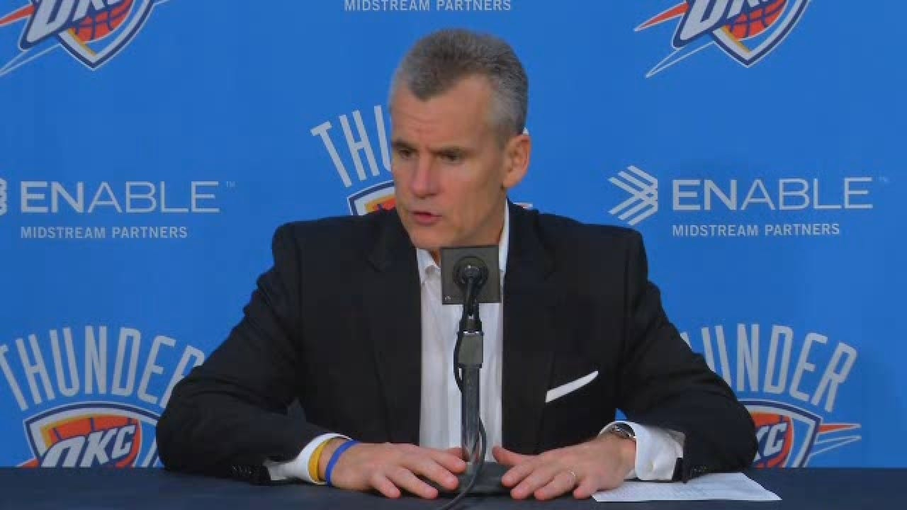 Billy Donovan on Thunder Loss to Boston for web.wmv