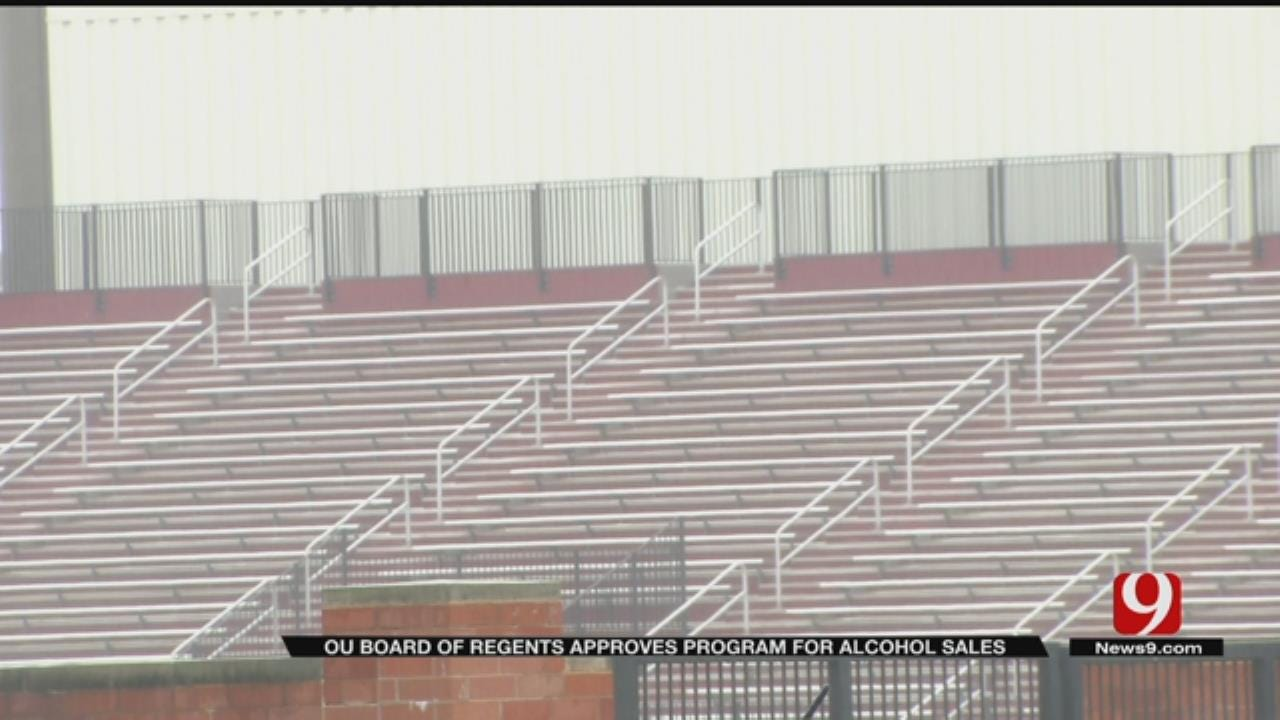 OU Board Of Regents Approves Program For Alcohol Sales At Sporting Events