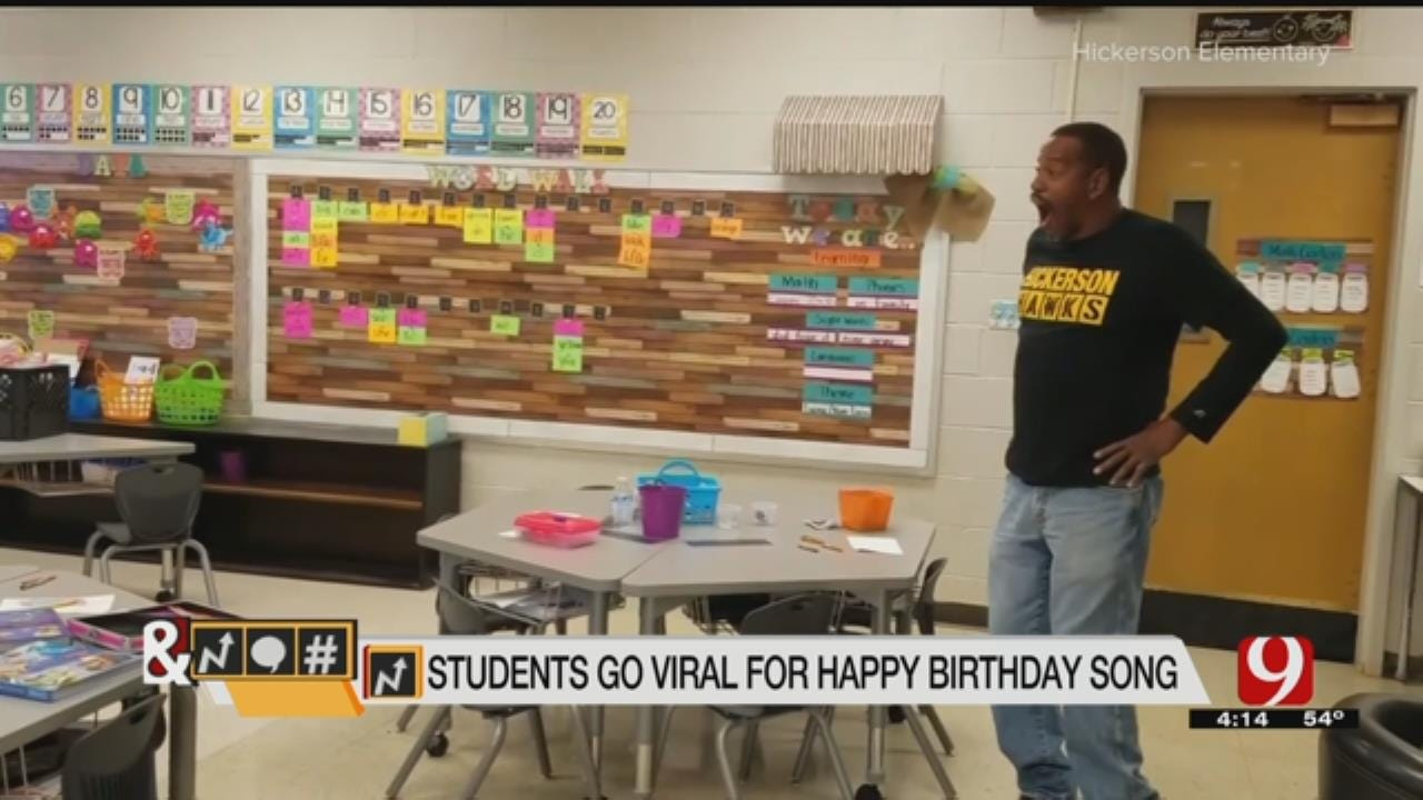 Trends, Topics & Tags: Students Go Viral After Birthday Surprise