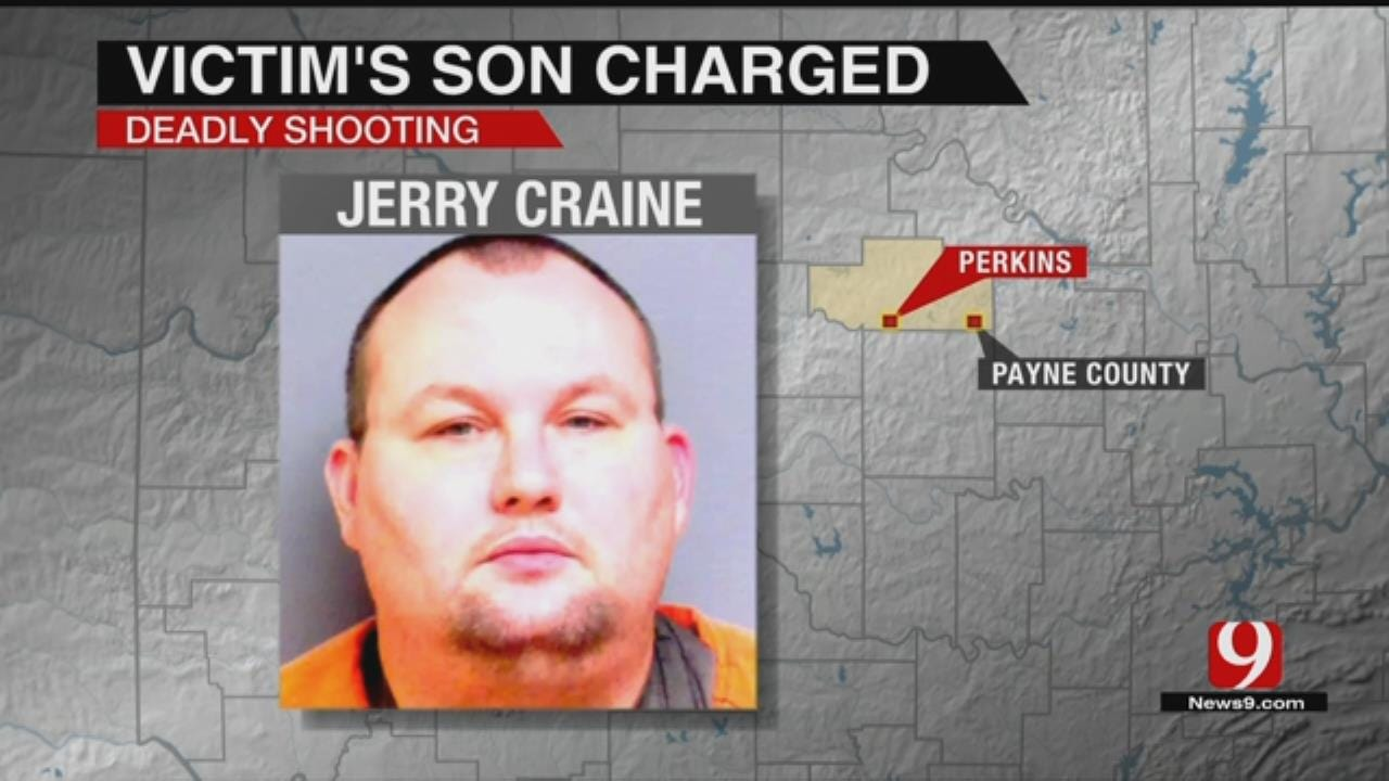 Perkins Man Charged In Shooting Death Of Father