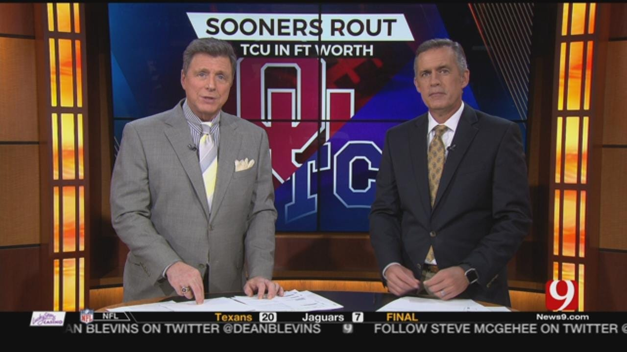 Blitz: OU-TCU Breakdown