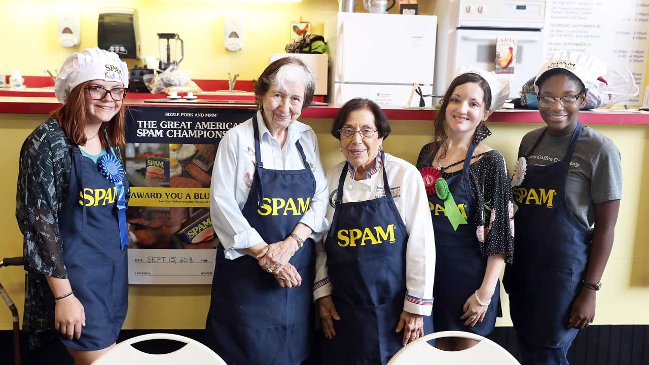 Yukon Kid Chef Makes Spam Championship Winning Recipe