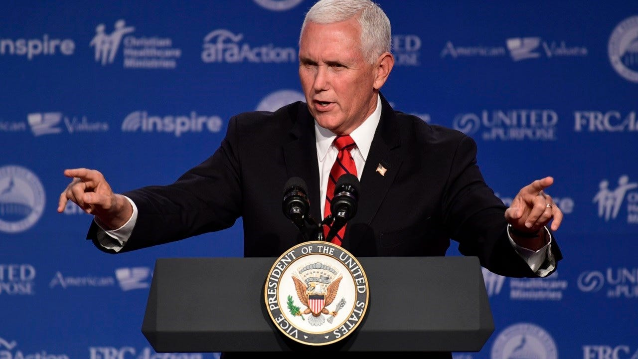 Vice President Mike Pence To Campaign For Kevin Stitt In Tulsa Thursday