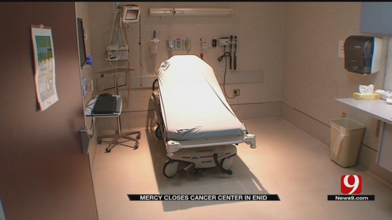 Mercy Closing Enid Cancer Clinic