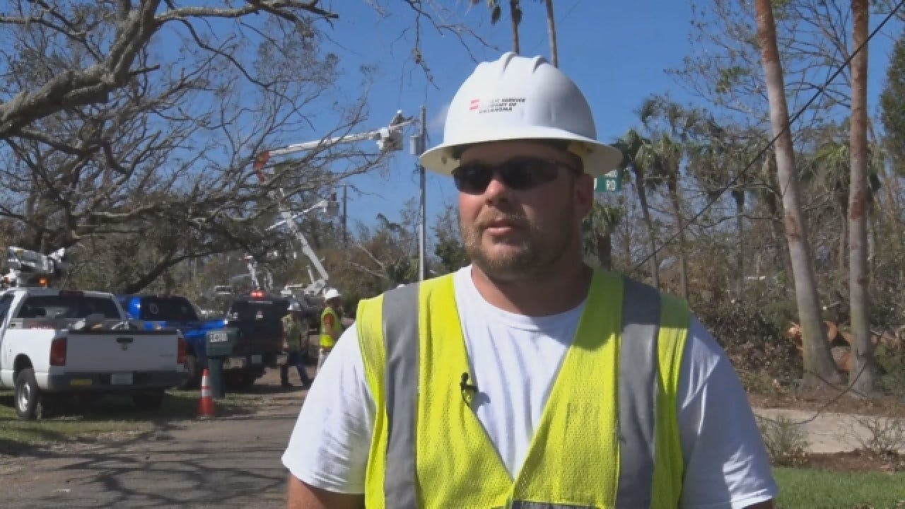 [UNFILTERED] Oklahomans With PSO Help Florida Recover From Hurricane Michael