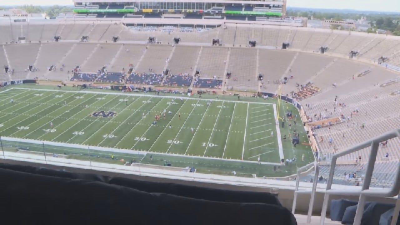 Notre Dame Prepares For Garth Brooks Concert