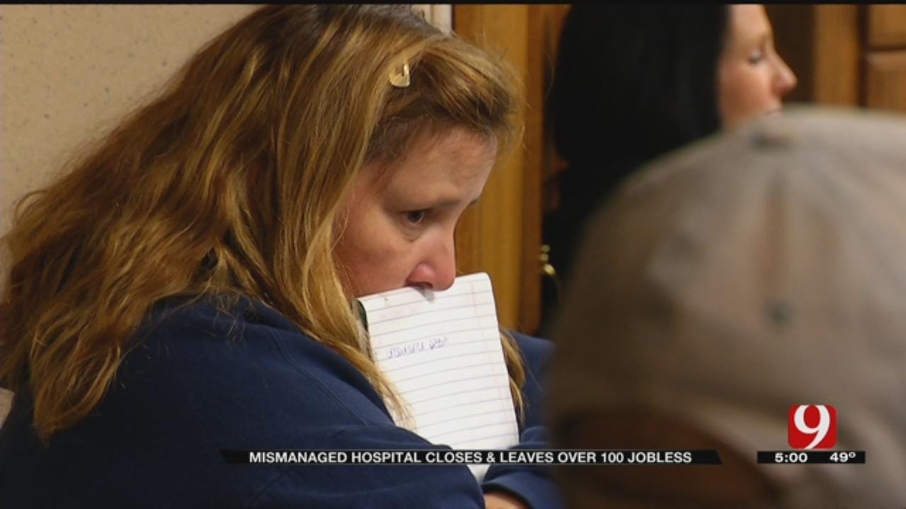 Pauls Valley Hospital Employees Not Getting Pay, Benefits After Closure