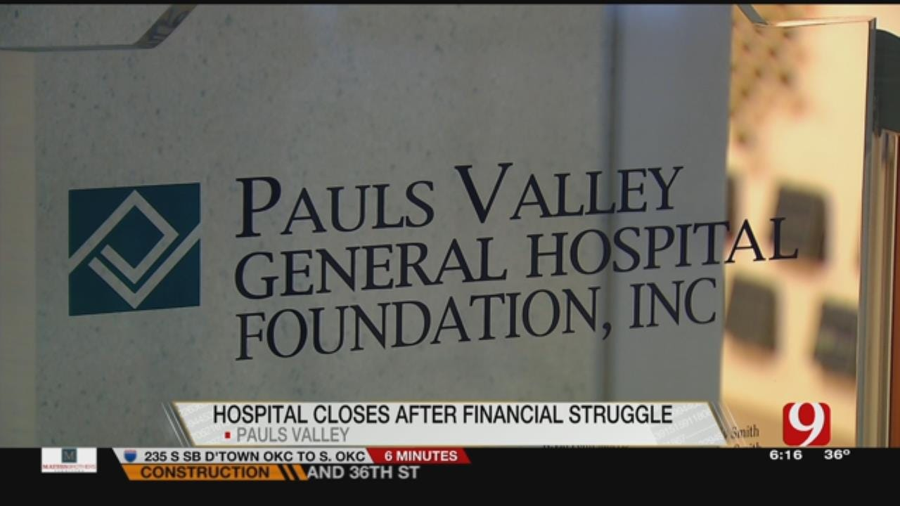 Employees Concerned After Pauls Valley Hospital Closes