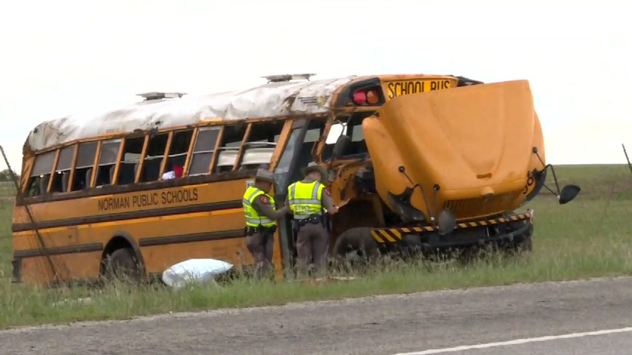 Officials Release Report On Norman Bus Crash