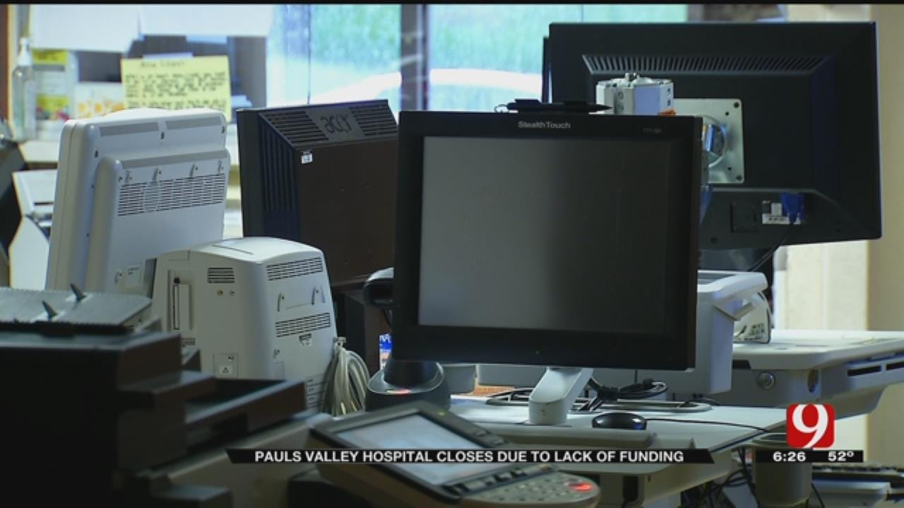 Official: Pauls Valley Regional Medical Center Couldn't Secure Large Donors