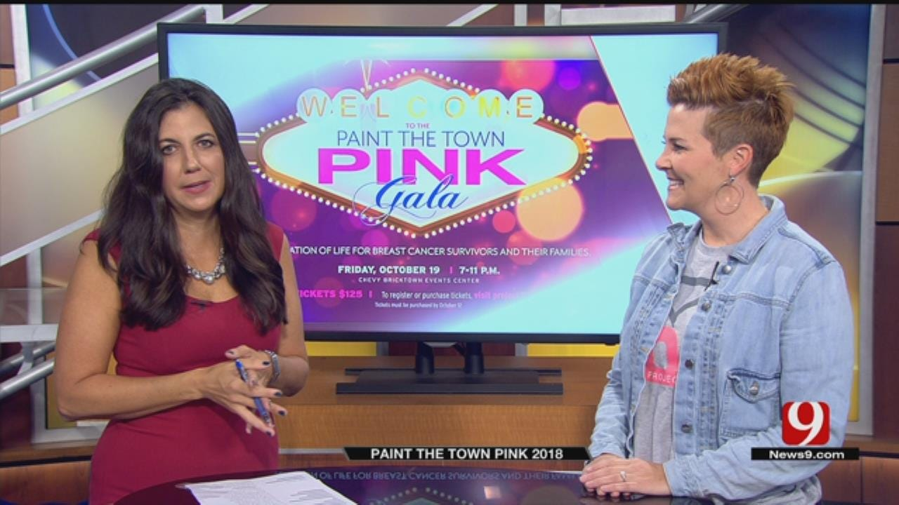 Two-Time Breast Cancer Survivor Hosts Paint The Town Pink Event