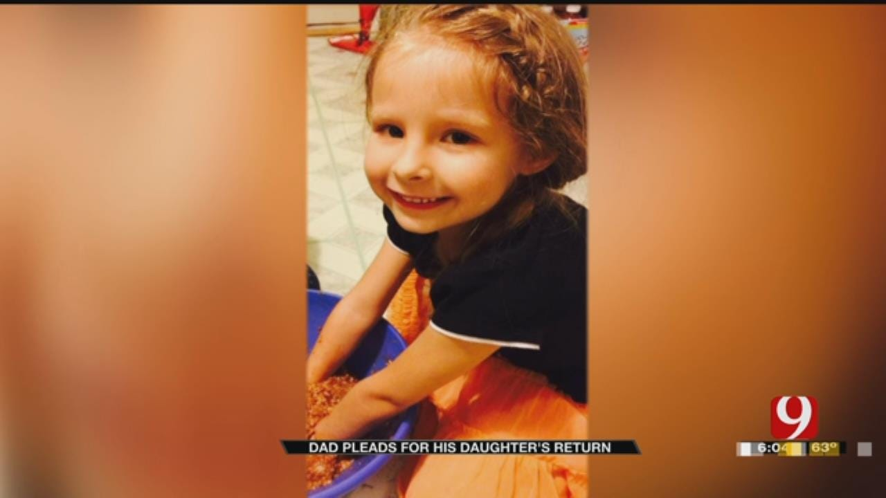 'She Is My World:' Oklahoma Father Pleas For Daughter's Return