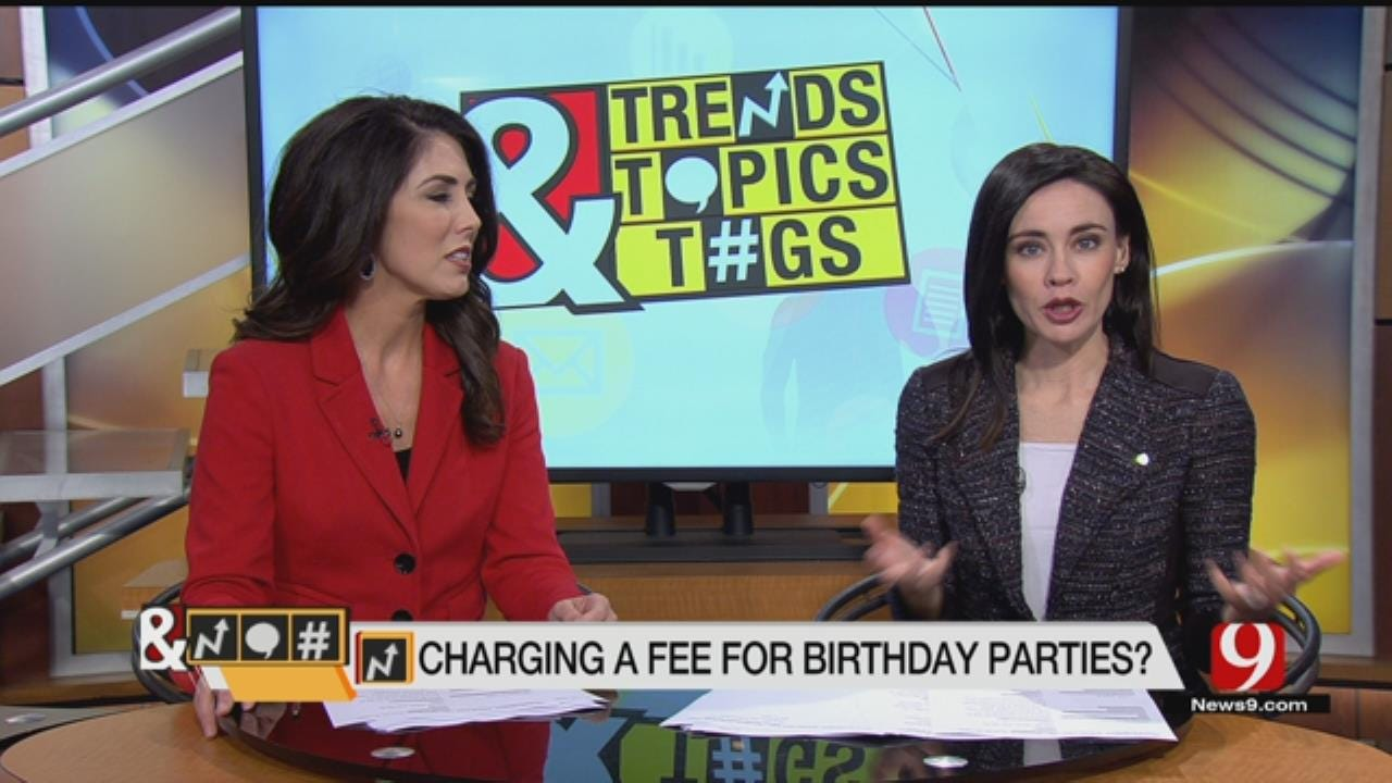 Trends, Topics & Tags: Birthday Party Fee