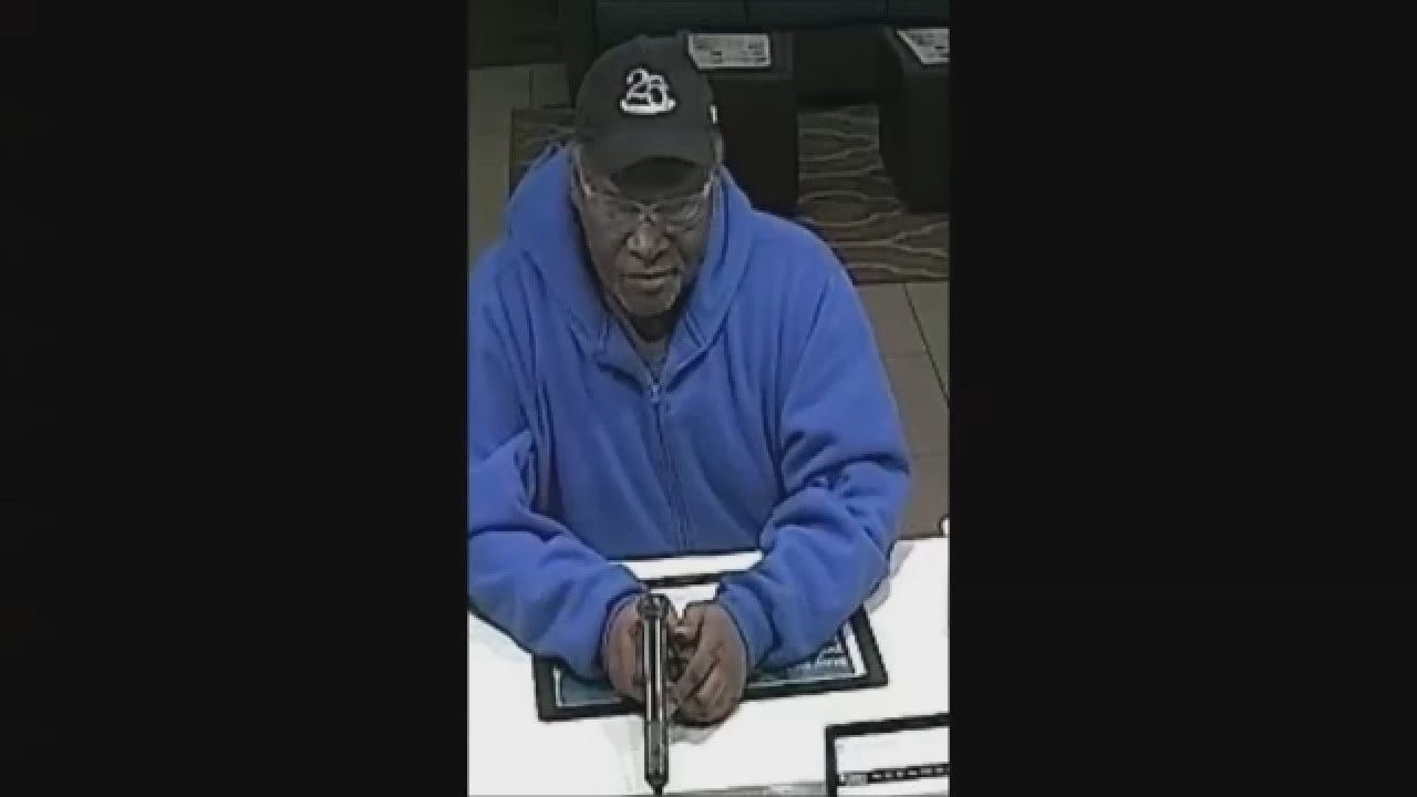 OKC Police Looking For Serial Robbery Suspect