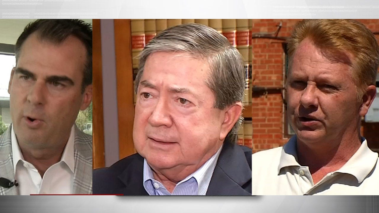 Gubernatorial Campaign Finances Coming Down To The Wire