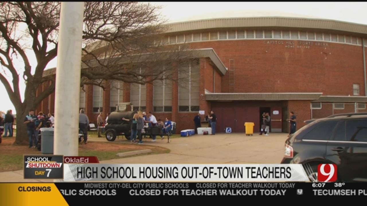 OKCPS Offers Free Place To Stay For Out-Of-Town Teachers