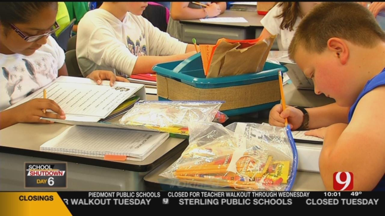 School Shutdown Means Delay For State Testing