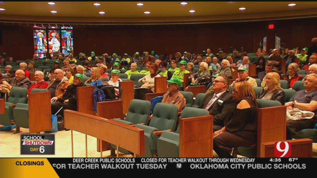 'Senior Day' Moved To Metro Church Due To Walkout At Capitol