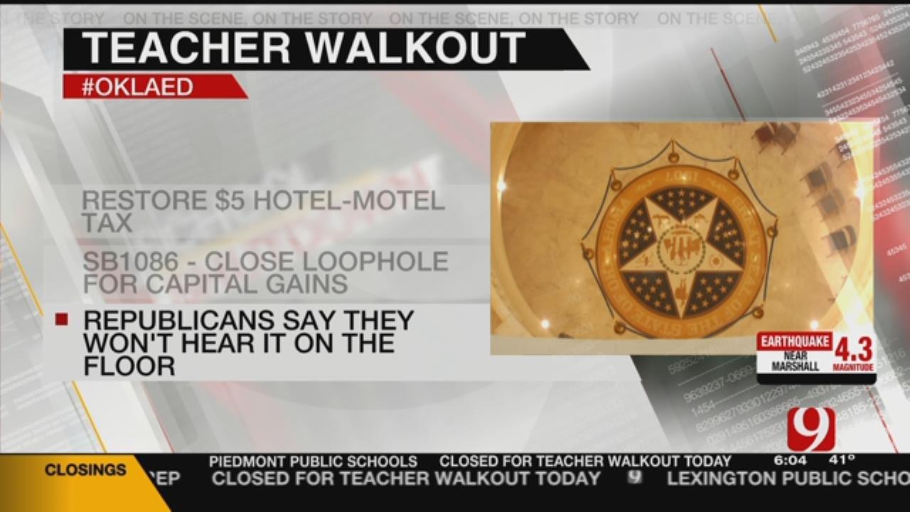 Teachers Want Legislators To Tackle More Revenue Raising Measures