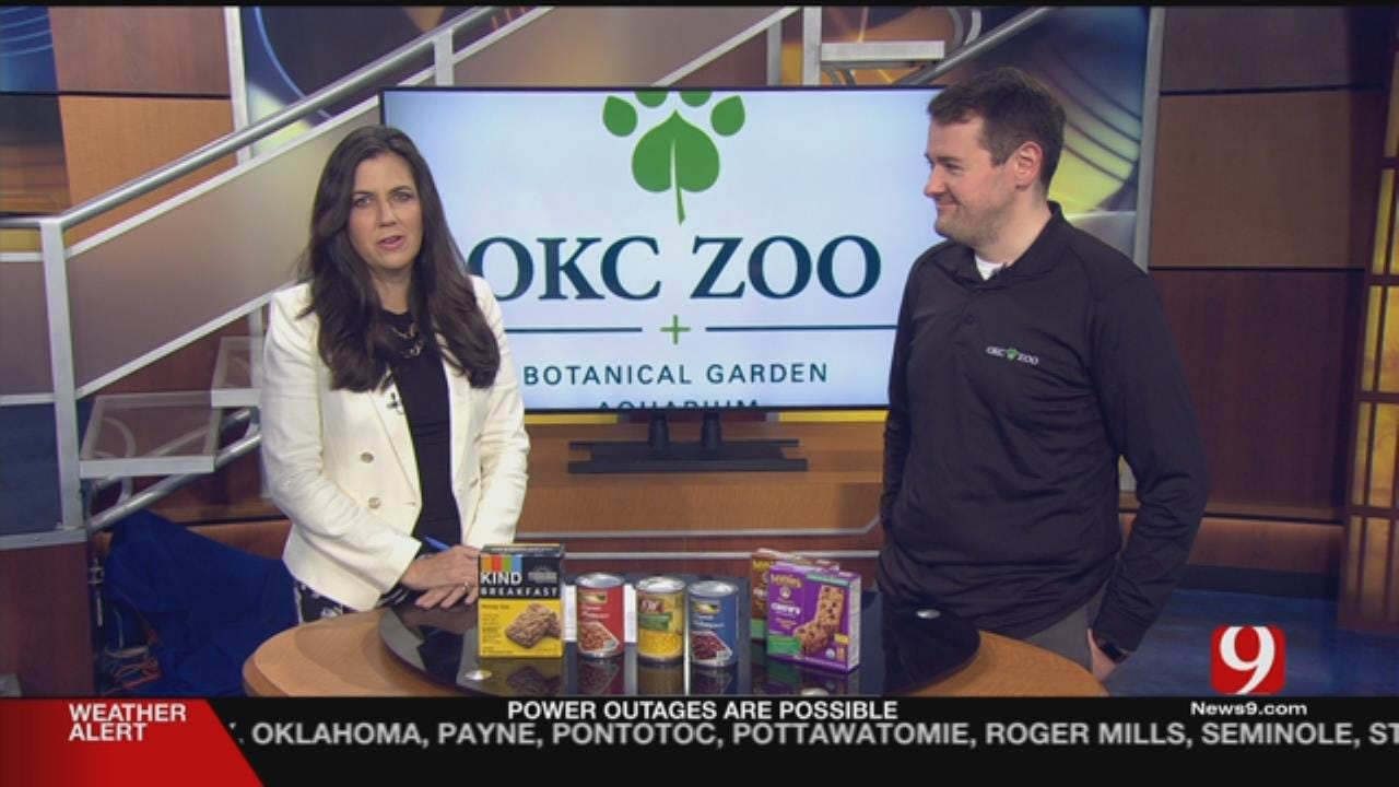 News 9 Partners With OKC Zoo For Food For Kids Drive