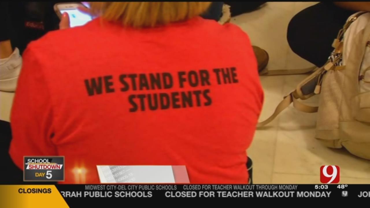 Teachers React Following Senate Vote On Funding Bills