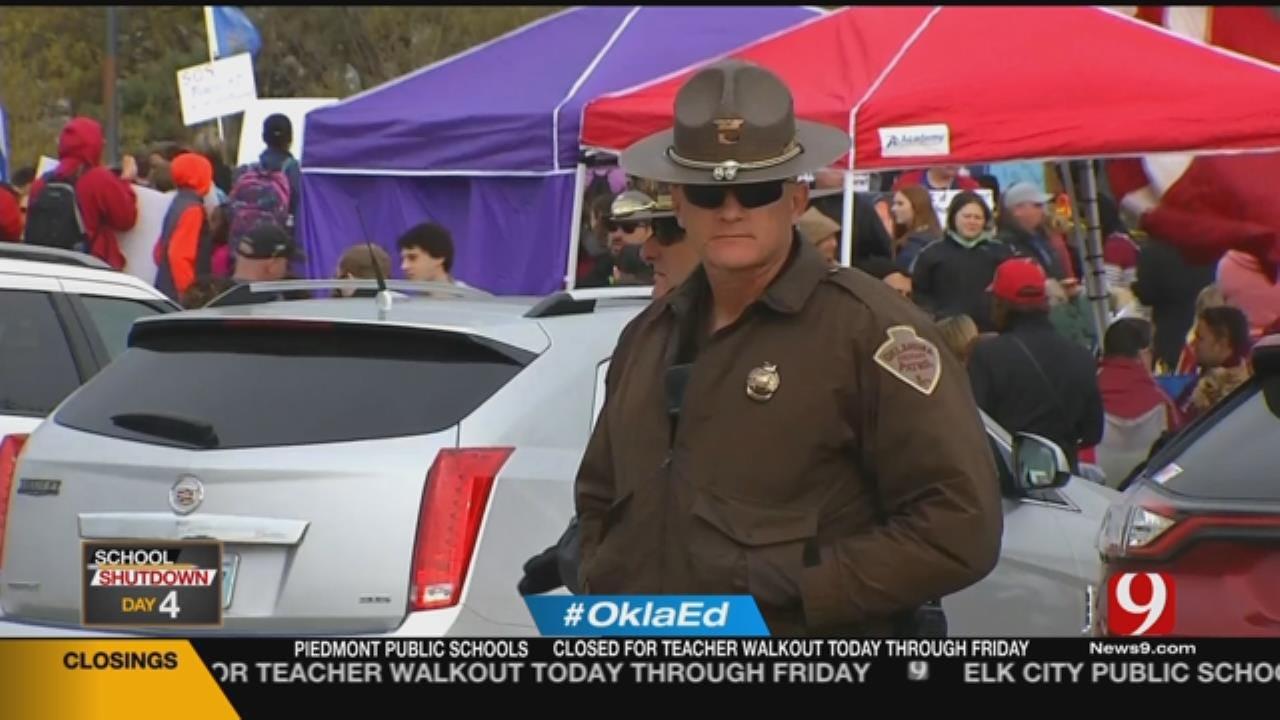 OHP: Teacher Walkout Peaceful All Week