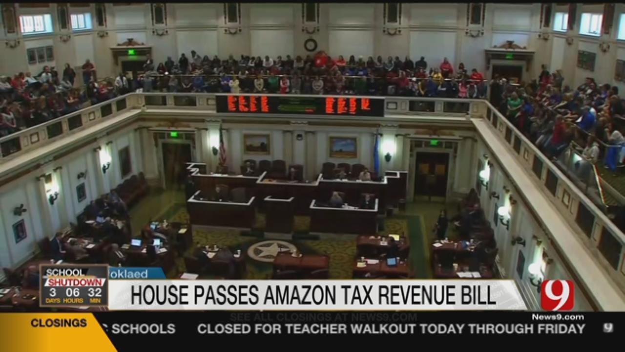 House Passes Bills For Education Funding